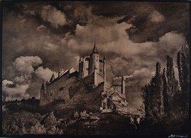 José Ortiz-Echagüe (1932) Alcazar de Segovia, carbon print