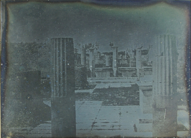 Alexander John Ellis Pompeii. The Basilica 1841, 12 May Daguerreotype National Science and Media Museum
