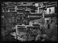 José Ortiz-Echagüe (1935) Casas de Albarracín, carbon print