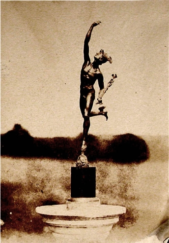 Mervyn Herbert Nevil Story-Maskelyne (1846) Image of a bronze figurine.Fox Talbot Museum.