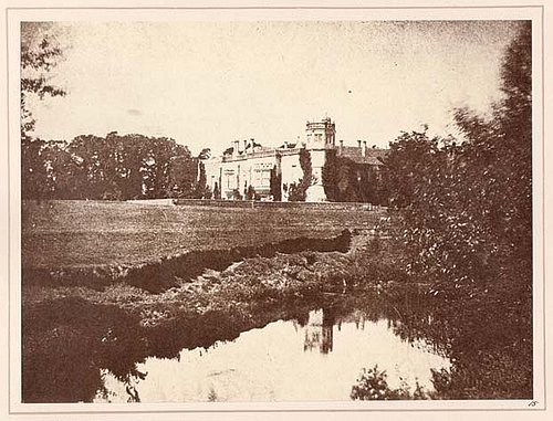 Henry Fox Talbot Lacock Abbey in Wiltshire [The Pencil of Nature, Part 3, pl. 15] 1844 (published) Calotype