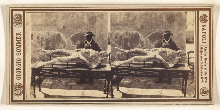 Impronte umane trovale al a Feb 1863 Artist:Maker- Giorgio Sommer (Italian, born Germany, 1834 - 1914) Culture- Italian Date- February 1863 Medium- Albumen silver print