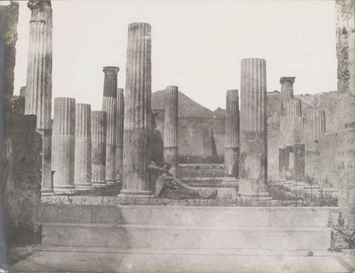 John Shaw Smith [The ruins of Pompeii, Italy 1850s Photographic print Edinburgh University Library,