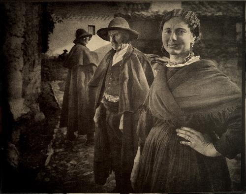 José Ortiz-Echagüe Aldeanos de Castilla 1920 (ca) Fresson print Atelier Petzval Collection