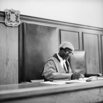 Paul Almasy (c.1972) Judge, Zambia
