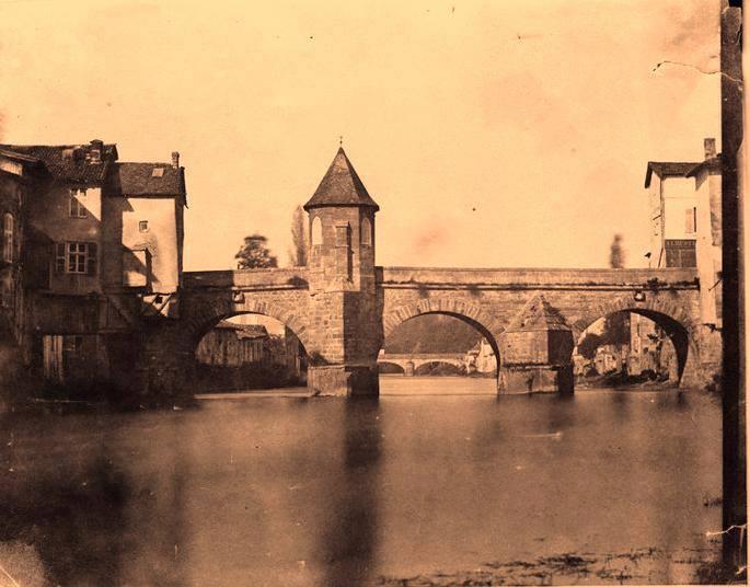 Louis-Adolphe Humbert de Molard Bar-le-Duc- pont Notre-Dame sur l'Ornain 1847 Digital positive, from paper negative 18.2 x 23.6 cm Musée d'Orsay