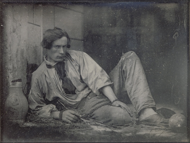 Louis Adolphe Humbert de Molard Louis Dodier en prisonnier, 1847 Louis Dodier as a prisoner, 1847 Object type Photograph Date 1847 Medium daguerreotype 110 mm 150 mm (5.91 in). Musée d