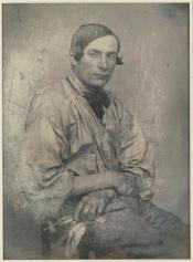 Louis-Adolphe Humbert de Molard (c.1845) Portrait de Louis Dodier, daguerreotype 11.6 x 8.5 cm Musée d'Orsay