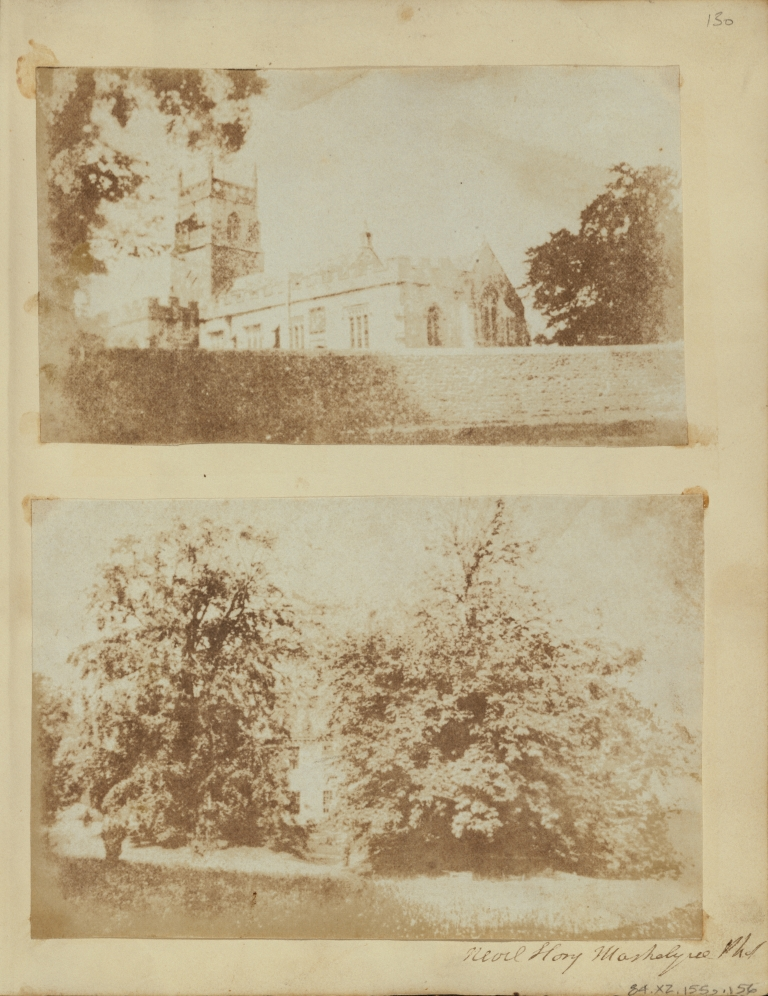 M.H. Nevil Story-Maskelyne (British, 1823 - 1911) Basset Down House., 1846, Salted paper print from a Calotype negative 10 × 15.4 cm (3 15:16 × 6 1:16 in.) The J. Paul Getty Museum, Los Angeles.jpg