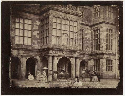 Nevil Story-Maskelyne Charlton House 1855 Albumen silver print 6 x 7 15:16 ins (15.2 x 20.2 cm) (image, irregular) 6 3:4 x 8 3:4 ins (17.1 x 22.2 cm) (sheet) Philadelphia Museum of