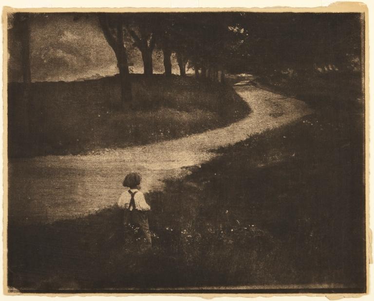 Princeton Gum bichromate print 27.1 x 34.7 cm