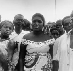 Paul Almasy (1959) Rally for Freedom and Justice, Ghana