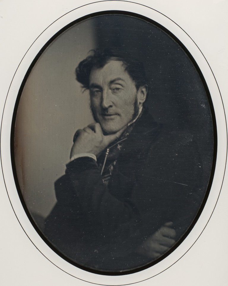Self-Portrait Louis-Adolphe Humbert de Molard (French, Paris 1800–1874) Date- 1846–47 Medium- Daguerreotype