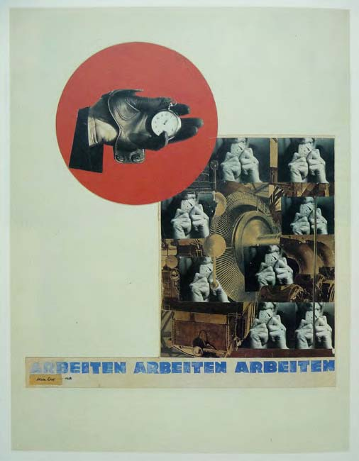 Alice Lex-Nerlinger, Arbeiten Arbeiten Arbeiten, Variante I, 1928
