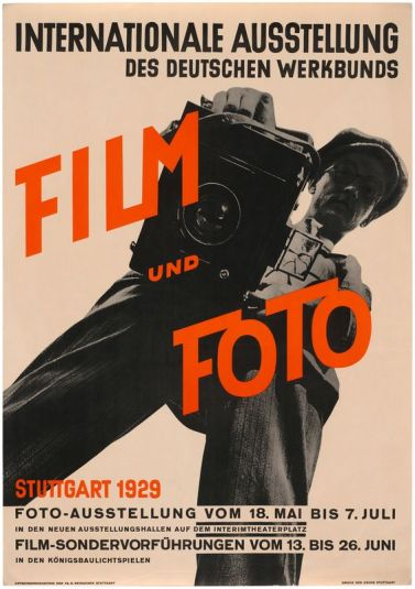 Film und Foto Exhibition poster 1929