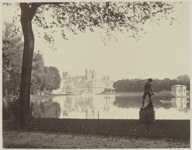 [Chateau] Artist:Maker- Louis-Alphonse Davanne (French, 1824 - 1912) Culture- French Date- 1860s Medium- Albumen silver print Dimensions- 24.4 × 31.3 cm (9 5:8 × 12 5:16 in.)