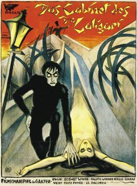 Atelier Ledl Bernhard (1921) Publicity poster for Das Cabinet des Dr Caligari