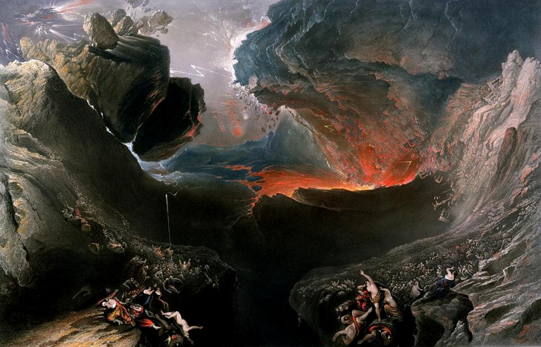 """The Great Day of His Wrath"" by John Martin"