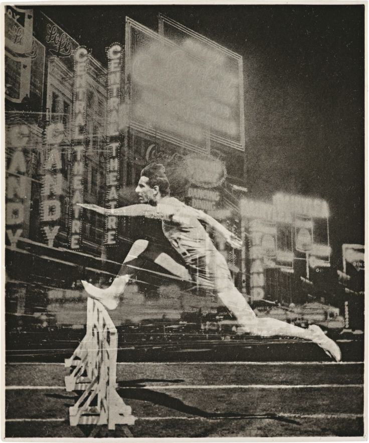 el lissitzky - runner in the city, 1926.