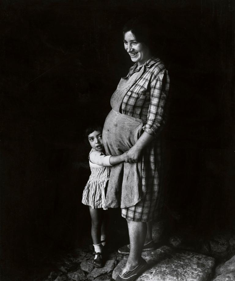 Fernando Gordillo, Retrato de una madre. 1964