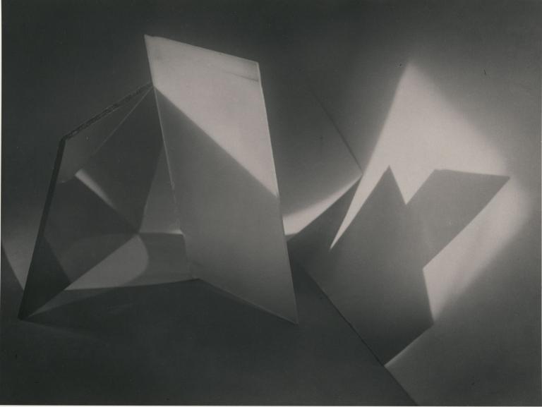 Jaromir Funke Composition Glass Plate c.1923 Gary Schneider 1994