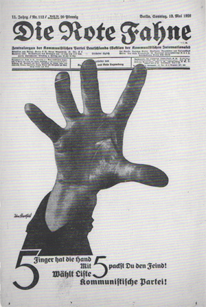 John Heartfield Political Poster May 13, 1928