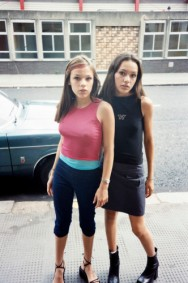 JUERGEN TELLER DESIREE AND CANDICE NEIL, LONDON, 22ND MAY 1998 Giclee print 30.5 x 25.4 cm