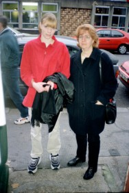 JUERGEN TELLER LAURA SADLER, LONDON, 3RD DECEMBER 1998 Giclee print 30.5 x 25.4 cm