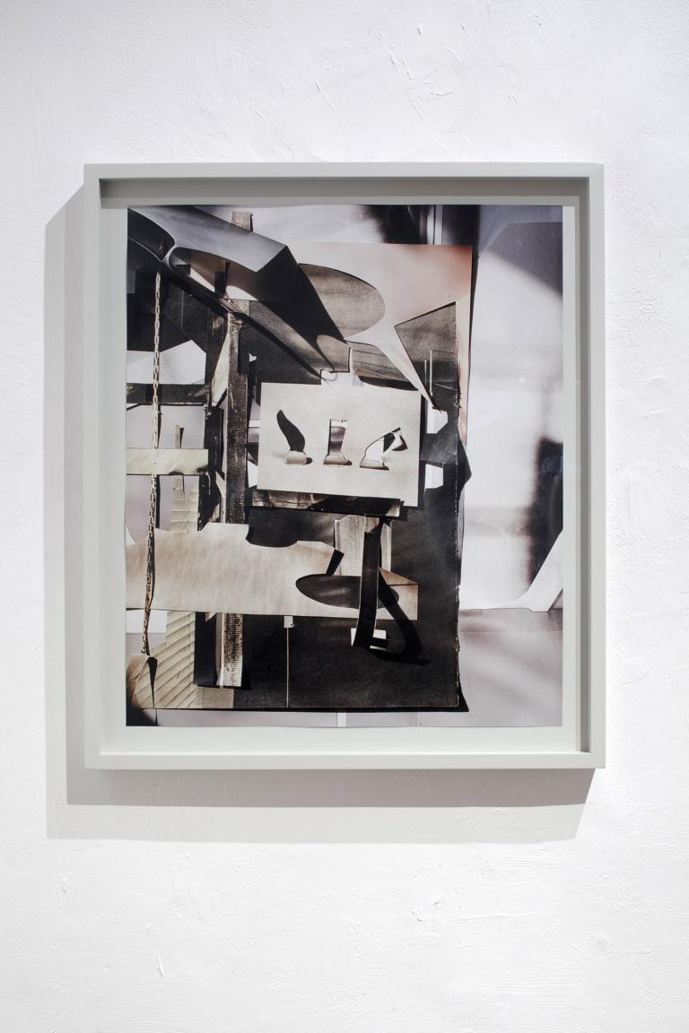 ANITA WITEK reset (#4-sunday painter), 2016, Unikat, analoger C-Print, 61x52cm, gerahmt
