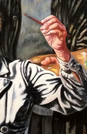 Charley Toorop (1941-1950) Drie generaties, detail.