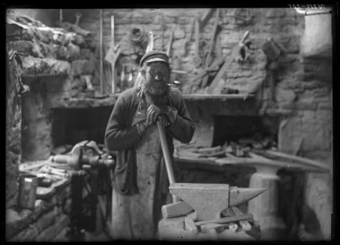 Igaküla blacksmith.