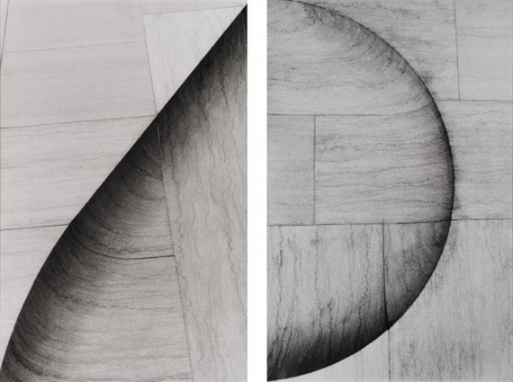 Patrizia della Porta (2004) East Building National Gallery, Washington,two prints from Variatons on a Theme.