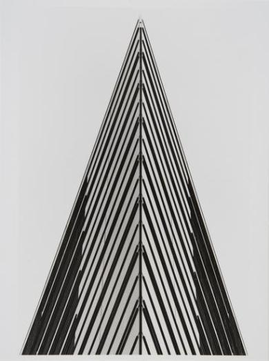 Patrizia della Porta (2003) Postdamer Platz Berlin: variations on a theme, printed 2007. Gelatin silver print