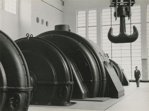Power Station La Grande Dixence, 1942. © Jakob Tuggener-Stiftung