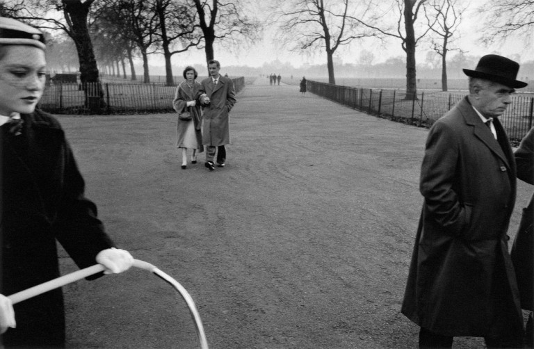 GB. ENGLAND. London. Hyde Park. 1958-1959.
