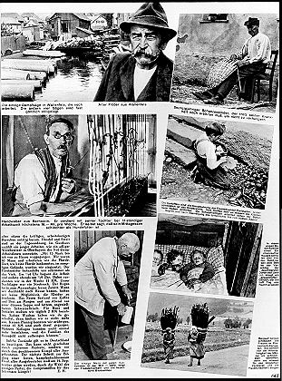 AIZ-Reportage 'Hunger in Frankenwald', 1930, page two