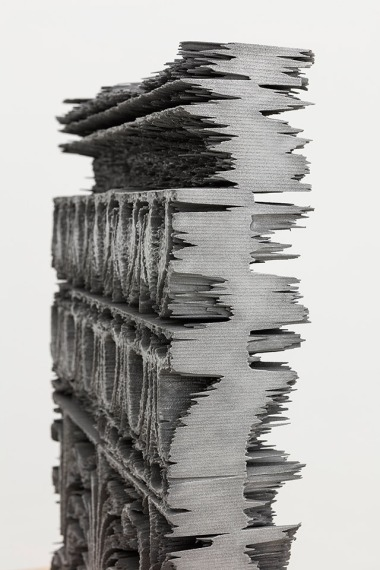 Anthemion, 3D Print, Aluminium coating, 36.07 x 48.54 x 9 cm, 2015