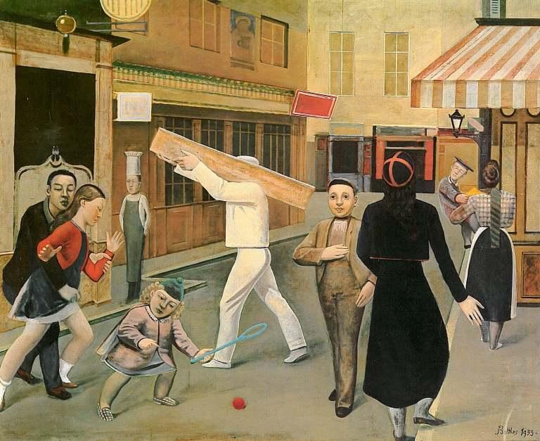Balthus (Baltusz Klossowski de Rola). The Street. 1933