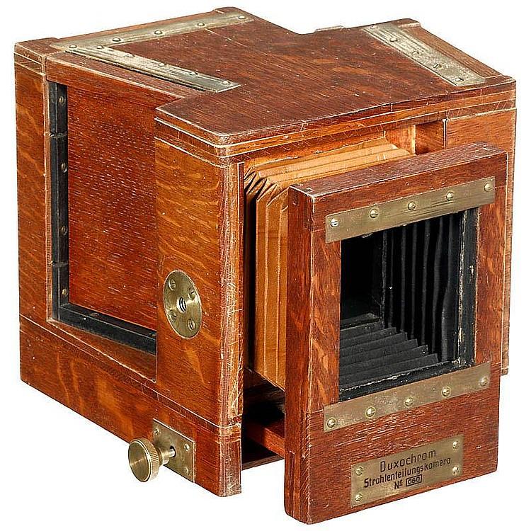 Duxochrom beam splitting camera c. 1930