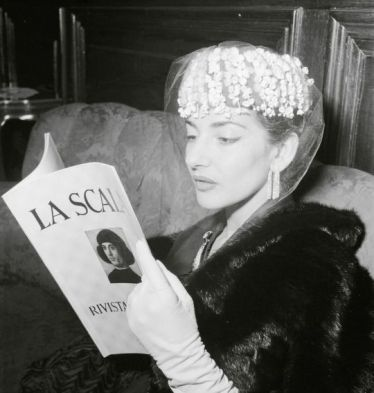 Barbara Pflaum (1956) Maria Callas in Vienna