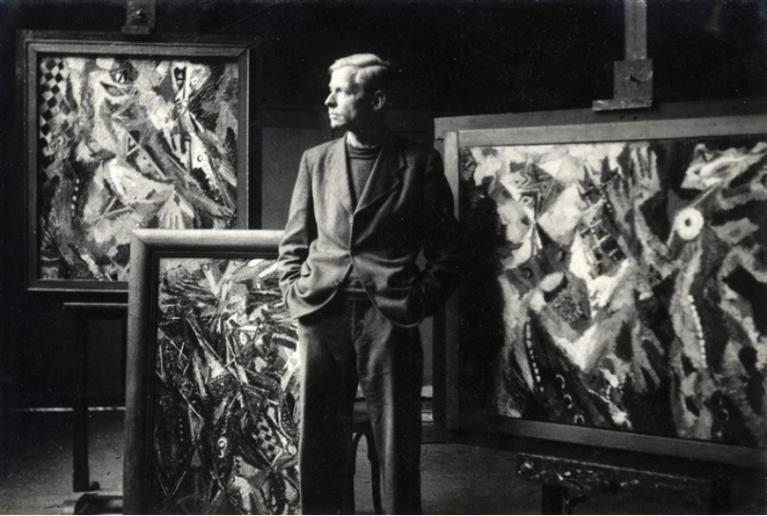 Marta Hoepffner (1945) Ernst Wilhelm Nay, gelatin silver print 11.2 x 16.7 cm