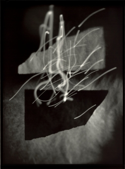 Pavel Odvody (2005) Krummau Invention 08, from the series Krummau Inventions. Gelatin silver print, contact print 24x18 cm