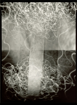 Pavel Odvody (2005) Krummau Invention 13, from the series Krummau Inventions. Gelatin silver print, contact print 24x18 cm