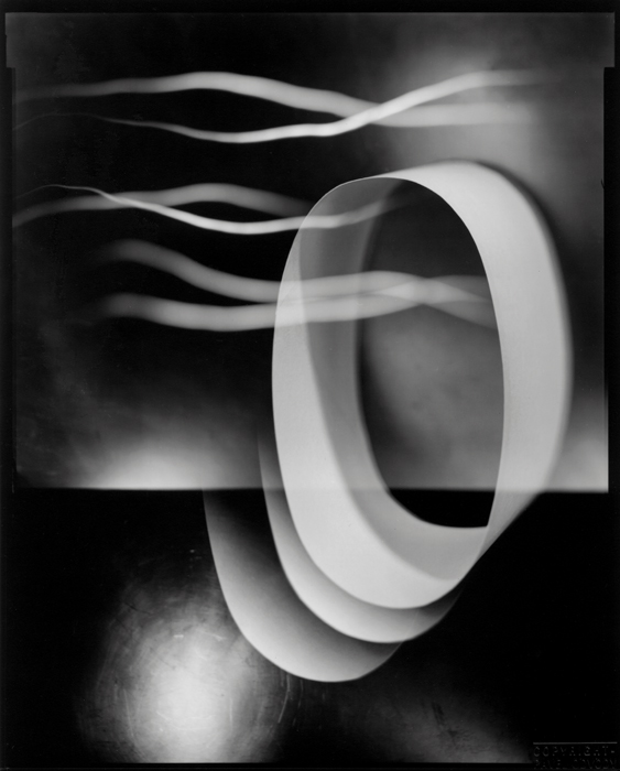 Pavel Odvody Landscape With Passing Light II 2003 Gelatin silver print 10x8ô (25x20 cm) contact print : 50x40 cm