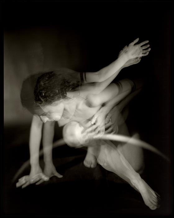 Pavel Odvody Study of a Motion [Motion studies] 2004 Gelatin silver print 10x8ô (25x20 cm) contact print : 50x40 cm