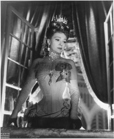 Raymond Voinquel (1948) Edwige Feuillere in L_Aigle à deux têtes directed by Jean Cocteau.