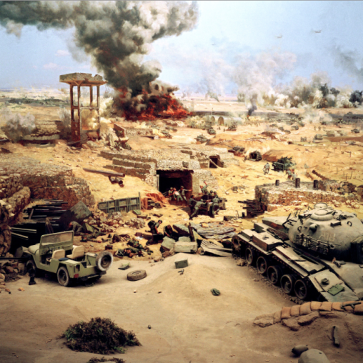 Jason Larkin (2010) October 1973 War Museum #1 (Cairo), Archival Inkjet Print, 79 x 79 cm