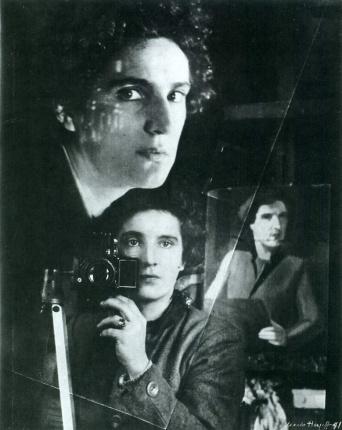 Marta Hoepffner (1941) Self-Portrait in Mirror. Gelatin silver print 35.4 × 28.9 cm