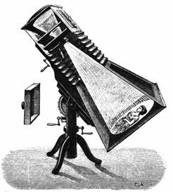 Alphonse Liébert's solar camera 1864
