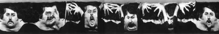 Andrew Davidhazy Peripheral Portrait - Bruce Made c. 1967